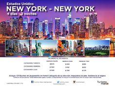 Un viaje de Mil Millas comienza por el primer paso! travel without limits! Asesor de Viajes VOLANDO:    NEW YORK GETAWAY PACKAGES - ESCAPADITA EN NEW ...