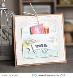 https://flic.kr/p/wAWp8H Karte von @venure mit dem August Kartenkit AddOn von www.danipeuss.de - kesi' art - Metaliks / Stanzformen - Flags - Memorybox Die Butterfly - Farbsprays - Ranger Archival Ink Jet Black #dpAugustkit15 #danipeuss