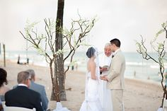 Embellished branches fit in perfectly with the beautiful natural scenery.Location: B Ocean Hotel in Fort Lauderdale, FL