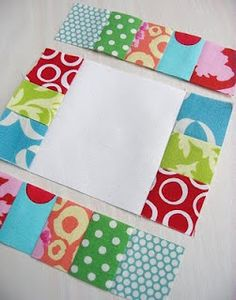 Sew WE Quilt!: A Scrap Busting Quilt. If only my scraps were this cute!