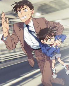 Uh-oh! Looks like Conan has pulled Takagi into one of his dangerous adventures . - Uh-oh! Looks like Conan has pulled Takagi into one of his dangerous adventures now. Is nobody safe - Manga Detective Conan, Detective Conan Shinichi, Conan Comics, Detektif Conan, Cute Anime Guys, Awesome Anime, Super Manga, Magic Kaito, Fangirl