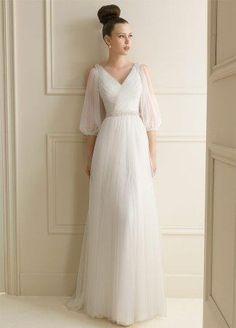 Сшить свадебное платье греческом стиле