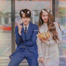 MurAto and burger Exo Kai, Sehun, Kpop Couples, Krystal Jung, True Sayings, Couple Goals, Editor, Falling In Love, Vsco