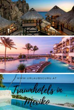 Ich zeige euch ein paar Traumhotels in Mexiko.