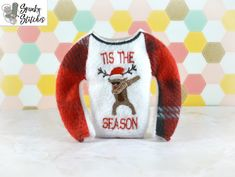 Recently Added - Spunky Stitches Embroidery Files, Machine Embroidery, Elf Clothes, Dabbing, Raglan Shirts, All Sale, Tis The Season, Reindeer, Stitches