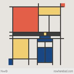 Is this cool or what? It's Whovian Mondrian art!
