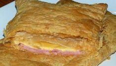 Ζαμπονοτυρόπιτα Cyprus Food, Lasagna, Food And Drink, Favorite Recipes, Stuffed Peppers, Bread, Ethnic Recipes, Drinks, Kitchen