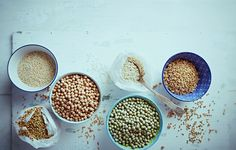 you know the difference between quinoa, bulgur & couscous? We're breaking them down here Couscous Recipes, Food Facts, Different, Quinoa, Vegetarian Recipes, Side Dishes, Grains, How To Make Money, Vegan