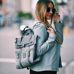Currently digging this convertible jetsetter backpack🙌  http://liketk.it/2ouc3 @liketoknow.it #liketkit   PC: @henrysyoung
