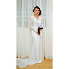 Malay Traditional Reception Dresses Solemnization - Farhana