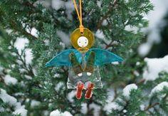 Glass Pendant Colorful Angel, Starting at: $9.00,  http://catalog.obitel-minsk.com/catalogsearch/result/index/?cat=77&q=angel  #CatalogOfGoodDeeds #CatalogOfStElisabethConvent #handmade #Christmas #present #gift  #angel #souvenir #love #home #happy #orthodoxculture #religion #faith #Christian #Christianity #glass