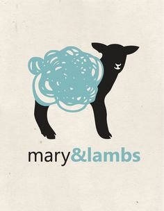 Mary & Lambs logo design by Aylen Garcia