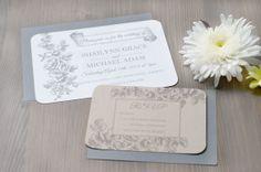 Custom Wedding Invitation  Hummingbird & Floral by hellolovepress, $3.75