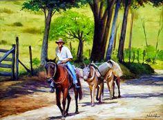Western Art, Art Pictures, Landscape Paintings, Watercolor Art, Westerns, Horses, Sculpture, Canvas, Wallpaper