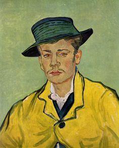 """Vincent van Gogh """"Portret van Armand Roulin"""" (""""Portrait of Armand Roulin"""") 1888"""
