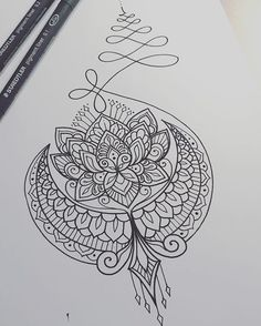 Design concept for Liban #tattoo #tattoodesign #tattooart #art #design #drawing #sketch #penandink #handdrawn #custom #mehndi #mehndiart #mandala #mandalaart #paisley #lineart #iblackwork #instaart #domholmestattoo #theblacklotusstudio