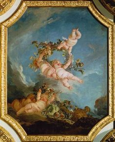 François Boucher - Autumn, from a series of the Four Seasons in the Salle du Conseil