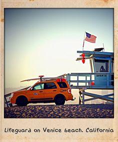 Lifeguard Venice. CA. USA