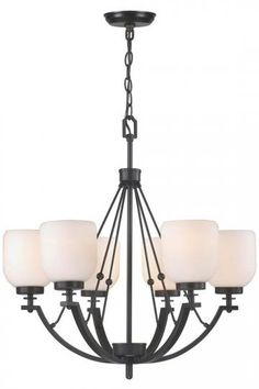 Ridley 6-Light Chandelier - Modern Chandeliers - Dining Room Chandeliers - Foyer Chandeliers - Contemporary Chandeliers - Six-light Chandelier | HomeDecorators.com