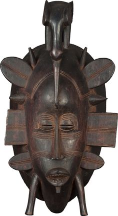 Senufo People These masks are used in the rites of the Poro society, a male organization that educates young men in the traditions and responsibilities necessary for their coming of age.