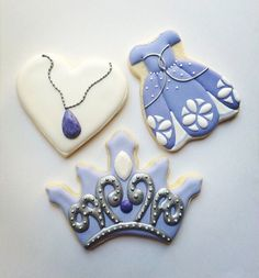 Sophia the First Cookies 1 dozen by IDreamofCookies on Etsy, $48.00