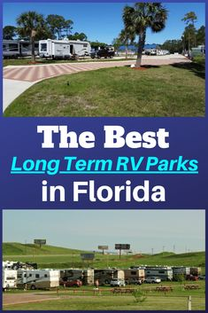 Hoping to visit an RV park for a little bit longer than normal? These are the top long term RV parks in Florida! Rv Parks In Florida, Florida Camping, Florida Travel, Travel Trailer Living, Travel Trailer Camping, Rv Travel, Rv Camping Tips, Camping Life, Rv Life