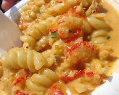 Crawfish Monica.  Tried it and love it.  The Essence makes up enough to season quite a few dishes.  :)