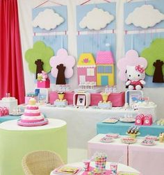 Ideas caseras para la decoracin de una baby shower para nia Baby