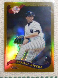 $4.99 2002 Topps Chrome Refractor MARIANO RIVERA BB Card #270 New York Yankees #NewYorkYankees http://www.ebay.com/itm/2002-Topps-Chrome-Refractor-MARIANO-RIVERA-BB-Card-270-New-York-Yankees-/272258404626?ssPageName=STRK:MESE:IT