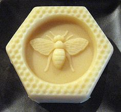 Make your own bee's wax soap. From Martha Stewart. Found on homemadecosmetics.blogspot.com