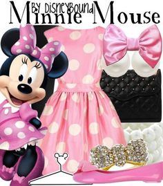 What a cute Minnie Mouse Costume ☺️