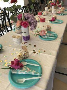 Unicorn table setting | Unicorn Baby Shower | Pinterest | Unicorn ...