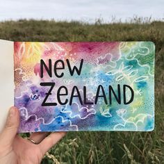 Diana Toledano / Illustration (@dianatoledano): I'm very excited about being out of the studio, discovering New Zealand, spending time with my guy, and drawing on a new travel journal.
