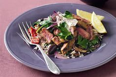 LEBANESE RECIPES: Middle-eastern lamb salad recipe