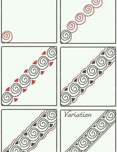 Snail by Zentangle