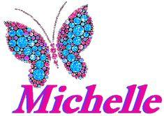 Michelle name graphic