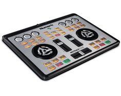 jetzt lieferbar....Numark Mixtrack Edge ist ein ultra-portabler 2-Kanal-DJ-Controller mit integriertem Audio Interface für Kopfhörer-Cueing und PA System Ausgang.