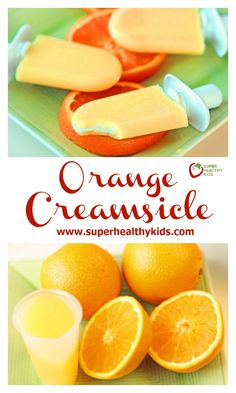 Orange Creamsicle Recipe - Orange coating with a creamy center! This popsicle is easier than it looks! www.superhealthykids.com/orange-creamsicles-and-zoku-pop-maker
