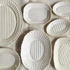 Platter with Stripes | Frances Palmer Pottery