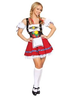 Check out Sexy Fraulein Sweetheart Beer Girl Costume - Sexy Beer Girl Costumes…