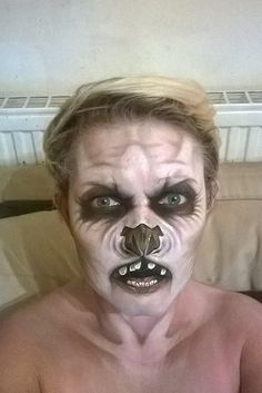 Nikki Shelley has gained an impressive following on Facebook thanks to her incredible make-up skills. | This Care Worker's Face Paintings Are Incredible And Truly Terrifying