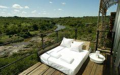 Singita Lebombo hotel in Kruger National Park, South Africa