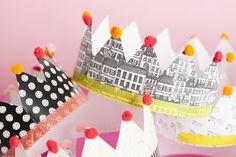 Ontdek hier vijf écht originele ideeën voor de leukste verjaardagskroon van het jaar! – Beaublue #verjaardag #kroon #feest #birthday #crown #party #DIY