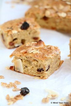 Havermout yoghurt cake met muesli - Mind Your Feed