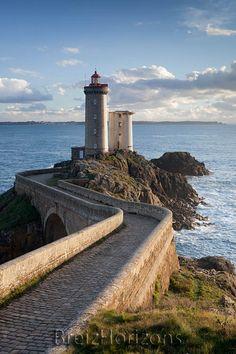 Pointe du Minou, rade de Brest, Bretagne