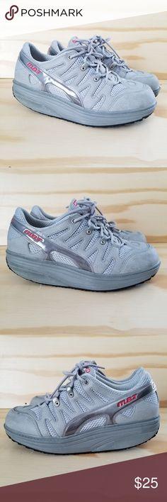 f6feebee MBT Womens Size US 8 Walking Shoes MBT Womens Size US 8 Gray Walking Shoes  Fitness