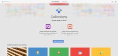 Google+ Collections: Update bringt #Pinterest-ähnliche Boards #gplus #SocialMedia