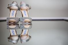 Metallic Jimmy Choo Heels