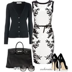 Black and White Ensemble - Conservative and Striking