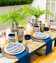 Step Up Your Outdoor Dining Experience With Beautiful Tableware!